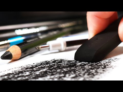 HOW TO DRAW | Basics of Charcoal Drawing for Beginners