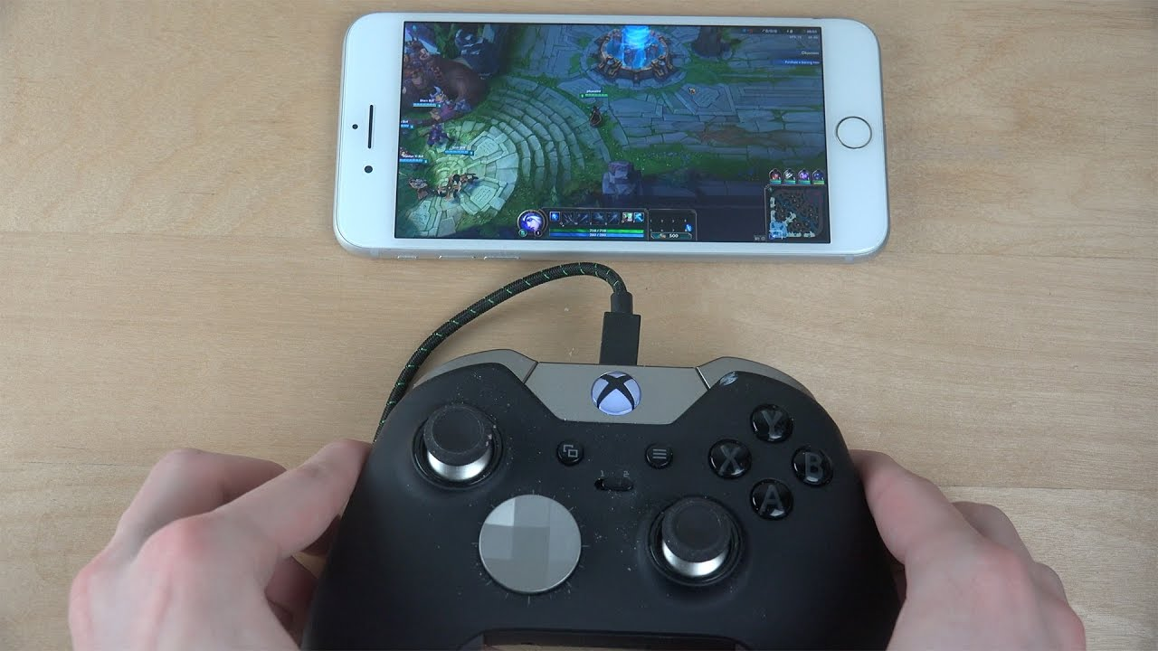League Of Legends Iphone 7 Plus Nvidia Moonlight Gameplay Streaming Test Youtube