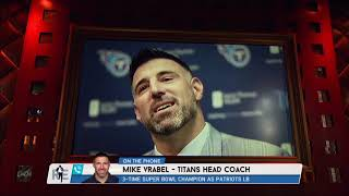 Titans Head Coach Mike Vrabel Talks OTAs, Belichick & More w/Rich Eisen | Full Interview | 5/31/18