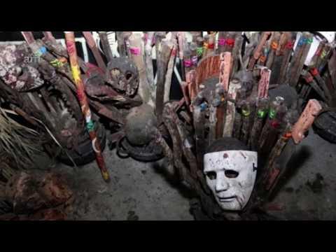 Les Encuentran Altar Satánico Con Restos Humanos A Los 31 Detenidos En Tepito