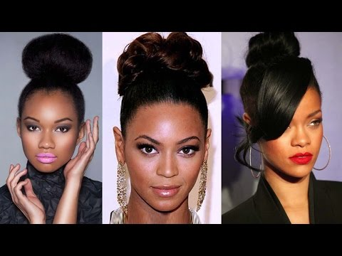 Top 20 Updo Hairstyles for Black Women Being Elegant like Beyonce
