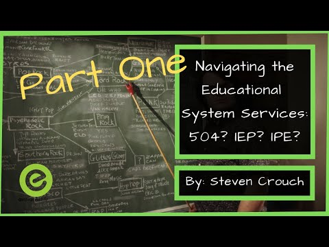 How to Get Your Child Special Education Services | Understanding 504's and IEP's: Part 1