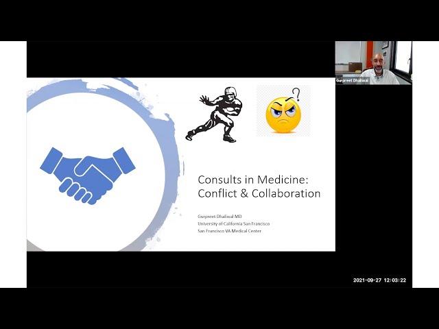 Consults in Medicine: Conflict & Collaboration