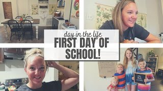 FIRST DAY OF SCHOOL DITL! || BACK TO SCHOOL 2020