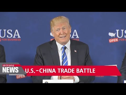 Trump asks for US$100 billion in additional tariffs on Chinese products
