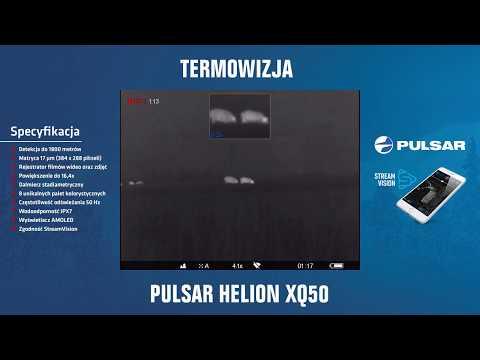 fa24c855a Termowizor Pulsar Helion XQ 50 - YouTube