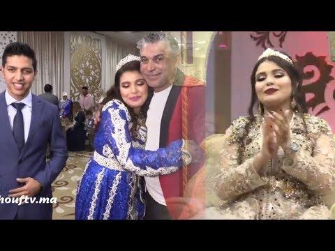 شوفو عن قرب العريس ديال بنت الستاتي وهاشنو قالت العروسة بحضور والدها في زفاف أسطوري