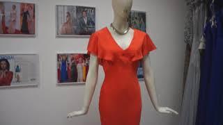 Вечернее платье в прокат Original Orange Evening Dress Москва, Краснодар НОВИНКИ!