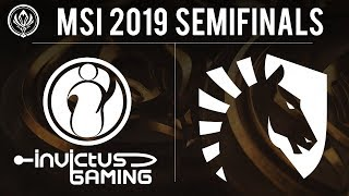 Invictus Gaming vs Liquid Game 1 - MSI 2019 Knockout Stage - iG vs TL G1