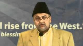 Poem and translation, West Coast Jalsa Salana USA 2011 - Islam Ahmadiyya