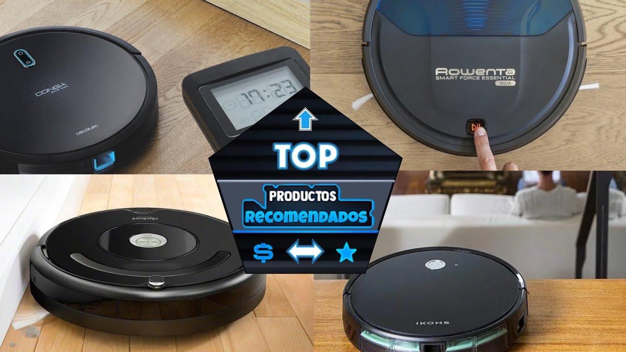 🔝LOS 4 ROBOTS ASPIRADORES MÁS RECOMEDADOS EN AMAZON ✅