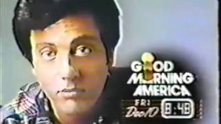Billy Joel  Steve Fox Interview on Good Morning America   1982