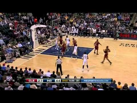 Cleveland Cavaliers vs Indiana Pacers (23/11/2010)