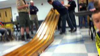 My Cub Scout Pinewood Derby 2012