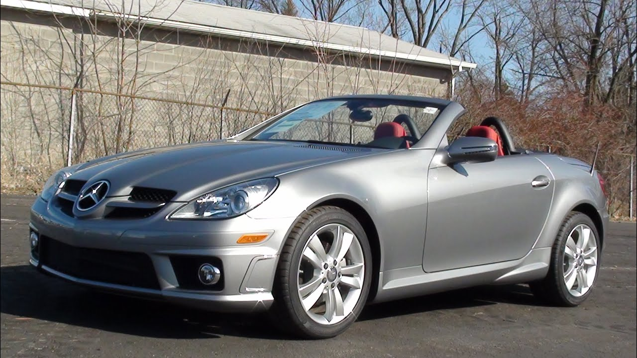 mvs 2011 mercedes benz slk300 youtube