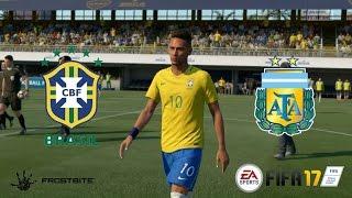 FIFA 17 - Brasil x Argentina - Super Clássico das Américas - Estádio La Bombonera - Playstation 4