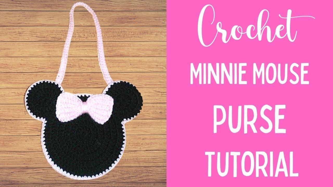 Crochet Child Mouse Purse Tutorial Crochet Jewel Youtube