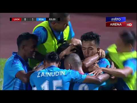 Akhir Pertama Piala FAM 2017: UKM FC 0-1 Sime Darby FC