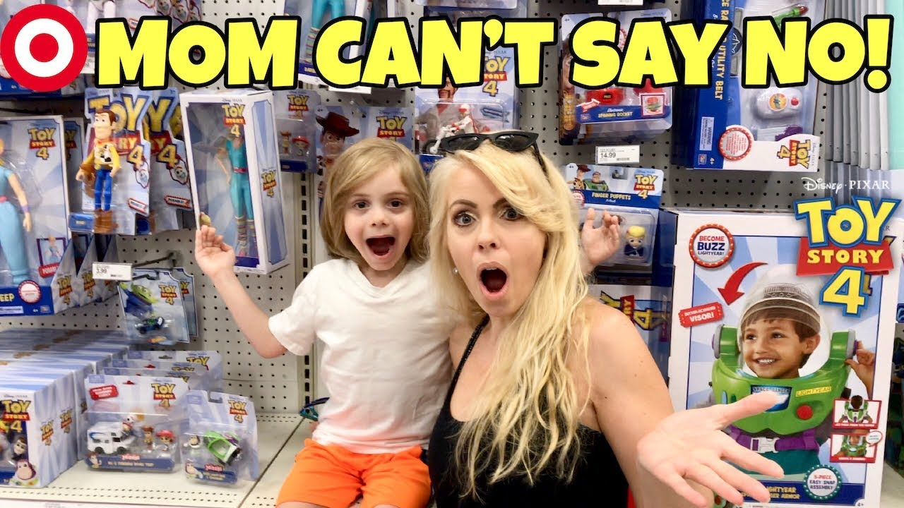 Mom Says Yes To Everything For 24 Hours Challenge Toy