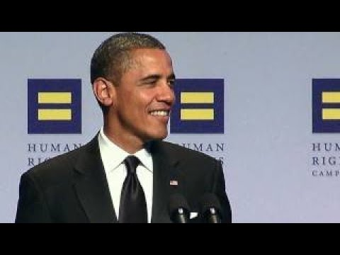 President Obama Delivers Remarks at the HRCs Annual National Dinner