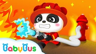 Little Panda Fireman | Kids Games | Gameplay Videos | For Children | BabyBus