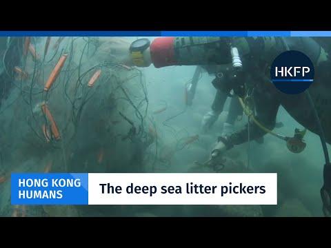 Hong Kong Humans - City's deep sea litter-picker team faces endless battle against marine trash