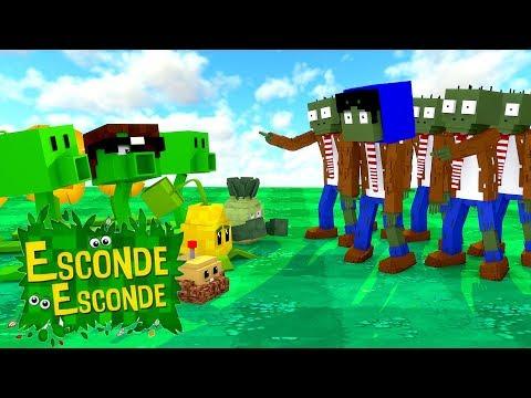 Minecraft: PLANT vs ZOMBIES! (Esconde-Esconde)