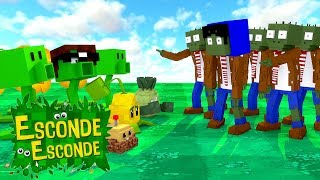 Minecraft: PLANT vs ZOMBIES! (Esconde-Esconde)