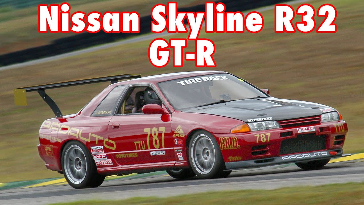 Nissan Skyline R32 GT-R Built to Conquer the Track