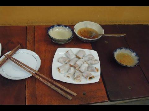 How to make rice paper banh cuon Vietnamese food วิธีทำข้าวเกรียบปากหม้อเวียดนาม