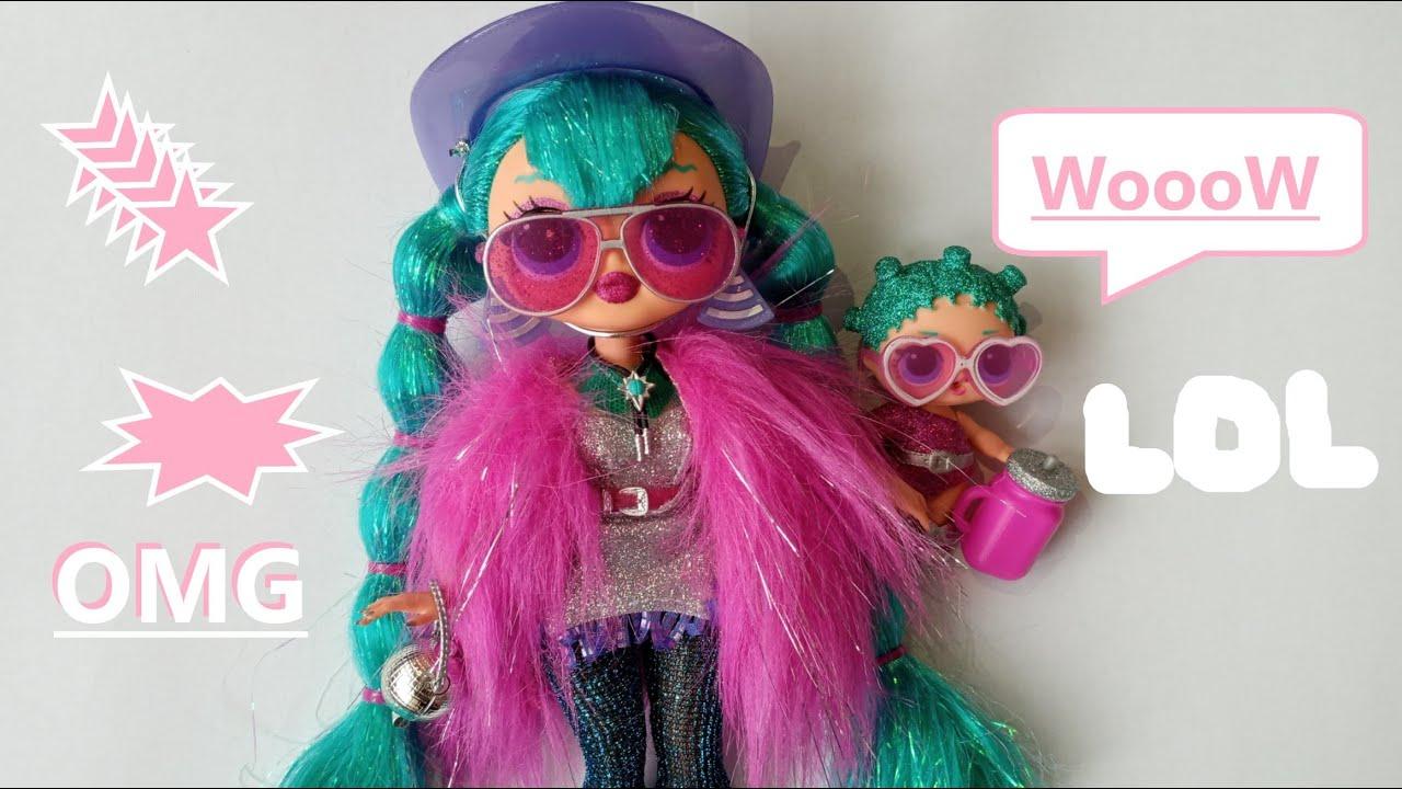 Кукла ЛОЛ OMG 👀 распаковка ⭐Winter disco & Cosmic nova ...