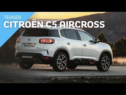 Teaser Citroën C5 Aircross 2019 / Review en Español / Test