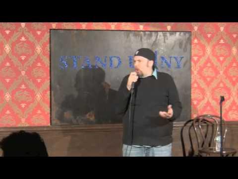 Justin Walker at Stand Up NY January 29 2014