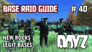 New Rocks Legit Bases - DayZ SA - Base Raid Guide #40 - Inquisam