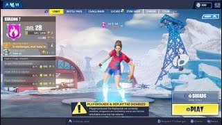 Sell Fortnite account with football skin!!!