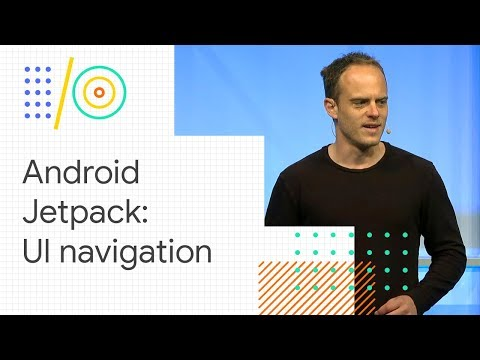Android Jetpack: manage UI navigation with Navigation Contro