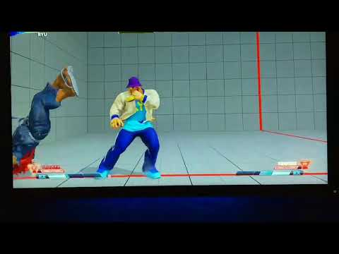Street Fighter 5: Arcade Edition - Ryu New Move Joudan Sokutou Geri