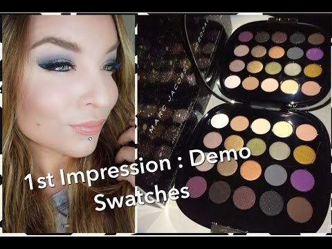 Marc Jacobs Style Eye-con No. 20 The Free Spirit for Holiday 2015 : 1st Impression :Demo: Swatches