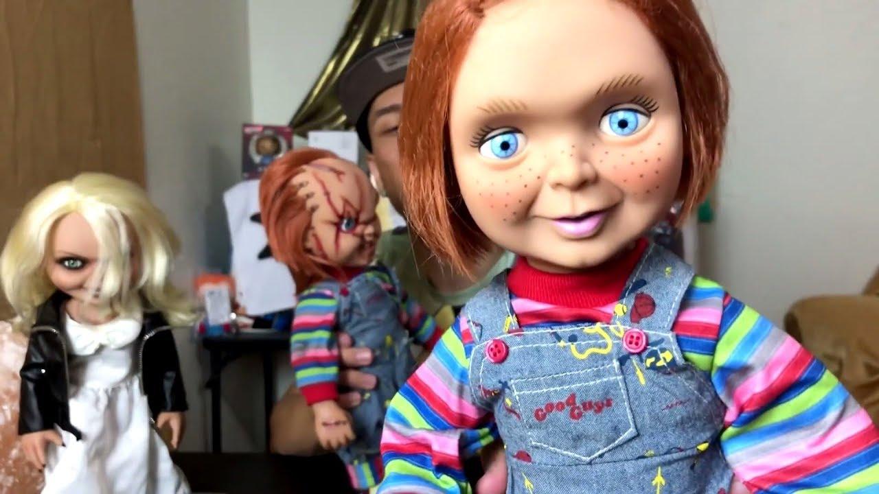 Good Guys 15 Inch Chucky Talking Doll By Mezco Youtube