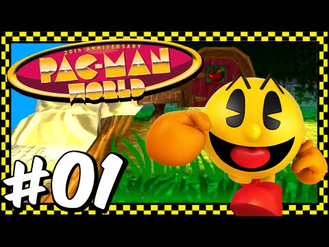 Pac-Man World - Part 1 - Happy Birthday Toc-Man!