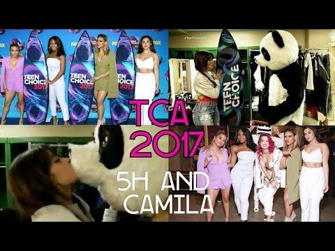 Fifth Harmony and Camila Cabello Moments on Teen Choice 2017
