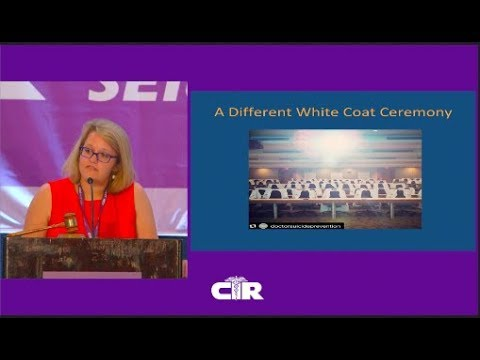 CIR Keynote 2018: Depression and Suicide In Residency
