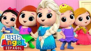 Download *Mejores Canciones de Princesas* 👸   Canciones Infantiles   Little Angel Español Mp3 and Videos