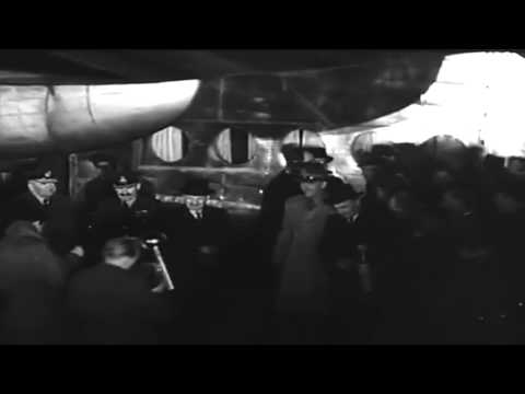 Arrival Of British Prime Minister Clement R. Attlee At Berlin, RAF Gatow, 1949 (full)