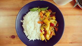 Easy and quick recipe for chicken stir fry