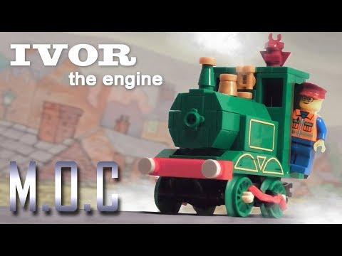 LEGO 'Ivor the Engine' - MOC Showcase Video