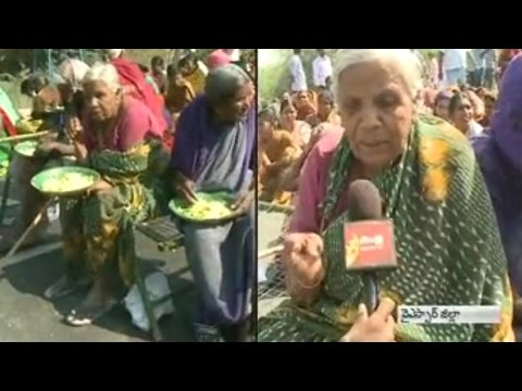 Villagers Agitation over Compensation for land pooling in Gandikota Project    YSR District
