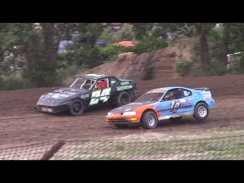 Mini Stock Heat Two | Genesee Speedway | 7-6-17