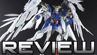1/100 Hi Resolution Gundam Wing Zero EW Review - GUNDAM WING - ハイレゾリューションモデル ウイングガンダムゼロ EW