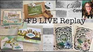 Summer Crafts on The Go! Paper Pumpkin, Perennial Essence,  Looking Up, Magnolia Lane, FB LIVE